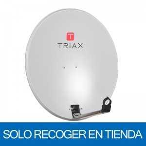 Antena parabólica de 65x60cms, 35,8dB, acero galvanizado. Sin embalaje. Solo recoger en tienda