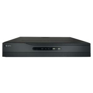 NVR 32ch IP, 24 PoE hasta 12Mpx, 256Mbps, H.265+, 4 HDD