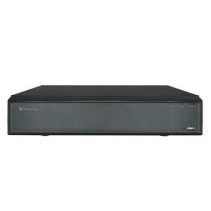NVR 64ch IP hasta 12Mpx, 320Mbps, H.265, 8 HDD
