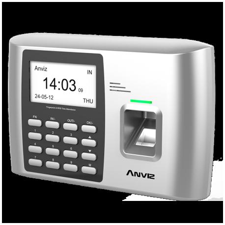 Lector biométrico para control de presencia (Antiguo Reloj de fichar). ANVIZ A300 WIFI
