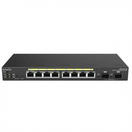 Switch Gestionable. x8 Gb POE 60W x2 SFP