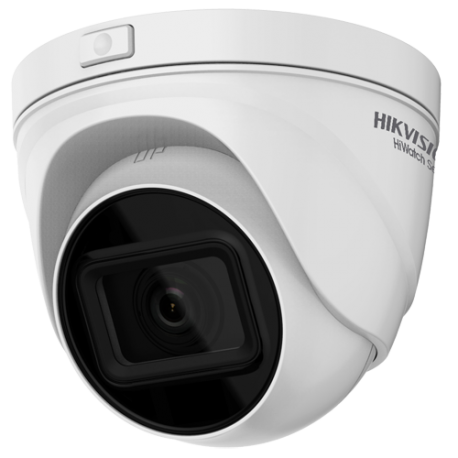 Cámara IP domo, 4MPx, IR 30mts, 12-2.8mm, H.265+, PoE802.3af, IP67