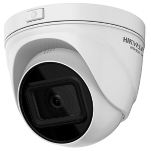 Cámara IP domo, 4MPx, IR 30mts, 2.8-12mm, H.265+, PoE802.3af, IP67