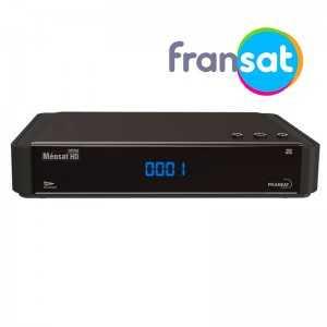 Receptor SAT (S2)+ Tarjeta Fransat, FULL HD, H.264, sin Wifi, IR