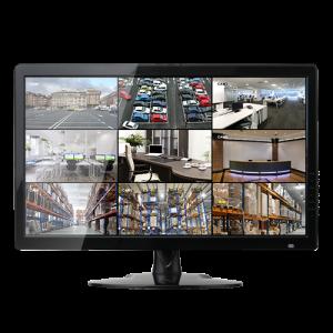"""Monitor LED 24"""" 4N1, Pnorámico 16:9, VGA, HDMI, SVIDEO, BNC y Audio"""