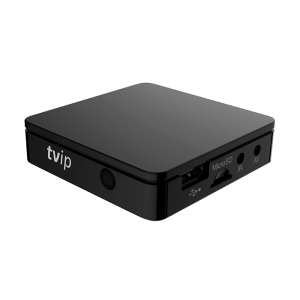 Receptor IPTV Linux, FULL HD, H.265, Linux, Quad Core 1.5Ghz, RAM 512 MB, Multistreaming, Ethernet