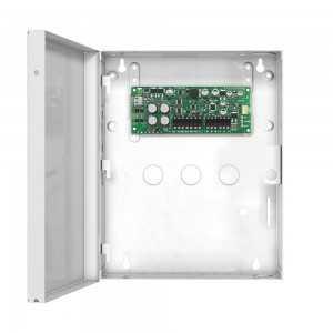 Módulo fuente de alimentación supervisada (2,8 Amperios) en caja metálica.