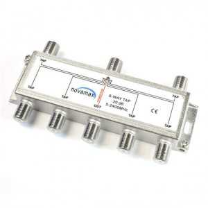 Derivador 6 líneas, 16dB, 5-2400Mhz