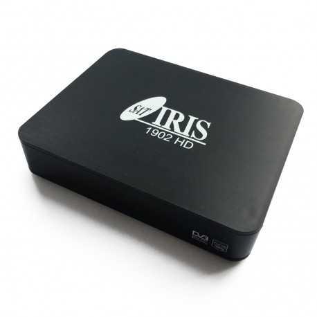 Receptor Android SAT (S2), 4K UHD, H.265, 1 Lector tarjetas, Wifi integrado, IR