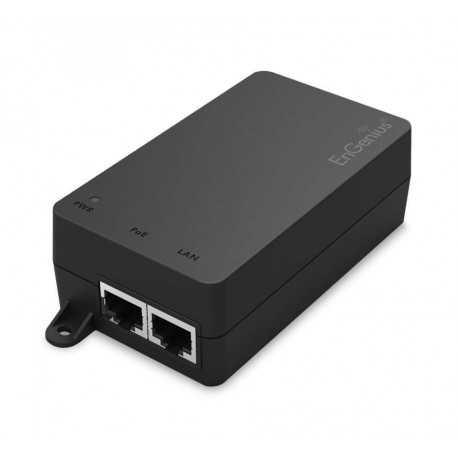 Inyector POE Gigabit 802.3af. 48v 30W