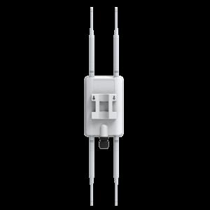 Punto de acceso AC 2.4/5Ghz para pared, 1300Mbps, 23dBm (200mW), x4 antenas de 5dBi, IP67