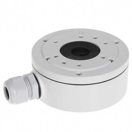 Caja conex. Hikvision. 127mm diámetro