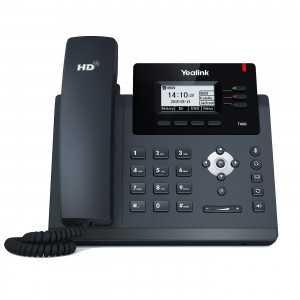 """Teléfono IP de 3 cuenta SIP, Pantalla LCD de 2.3"""", POE, manos libres y posibilidad de alimentación por POE"""