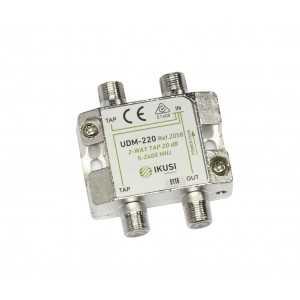 Derivador de montaje interior 2300Mhz, 20 dB, 2 salida