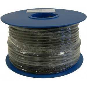 Cable 6,8 mm con gel de petróleo (para aplicaciones subterráneas) PE, 1,13mm cobre, malla/lámina cobre.