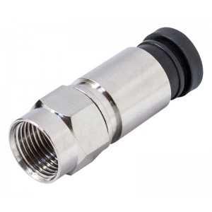 Conector F de compresión de 6.7mm. Apto para cable CCI-17X y CCH-175
