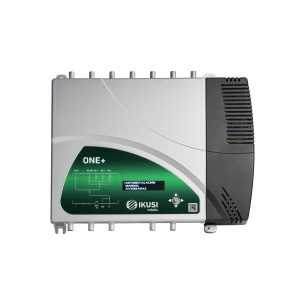 Central programable 32 filtros, 5 Entradas (x1 FM / x4 VHF-UHF). 131dBu. AGC.LTE 4G / 5G. 12-24V alim. remota (con previo)