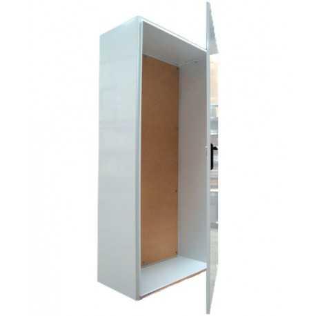 Armario RITI ICT2 para superficie de 2000x1000x500, IK08, IP33, con bisagras, chapa 2mm, fondo madera