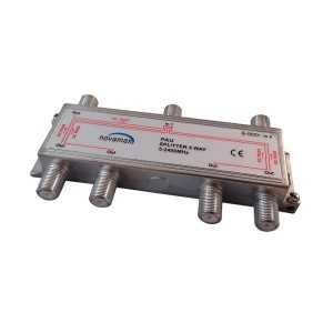 Distribuidor de 6 salidas con DC PASS, conector F. At. 10dBi