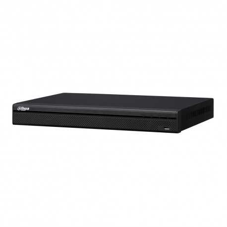 NVR 16ch IP hasta 8Mpx, 200Mbps, H.265, 2 HDD