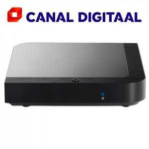 Receptor SAT (S2)+ Tarjeta Canal Digitaal, FULL HD, H.265, Wifi integrado
