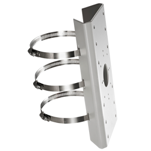 Soporte para poste de cámaras compactas - Acero - Rango de diámetro 67~127 mm