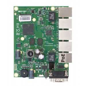Routerboard 4 nucleos, 716MHz, x5Gb (salida POE en puerto 5), L5