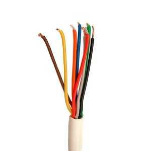 Cable trenzado 8x0.25 con funda. 100mts