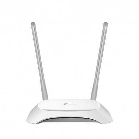 Router N WIFI 300 Mbps, x5 10/100, x2 antenas 5dBi