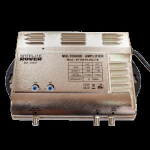Central Banda Ancha RT-100 PLUS-LTE 700. 1 Entrada 47-68 Mhz / 174-232 Mhz/ / 470-694 Mhz. Ganancia 25-45dB. 117dBuV