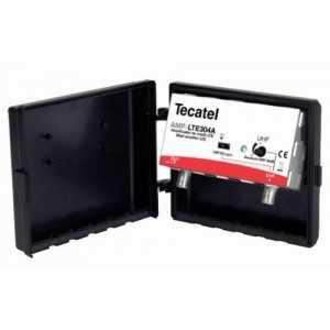 Amplificador de mástil 1 entrada, UHF 30dB de ganancia, 102dbuV, LTE
