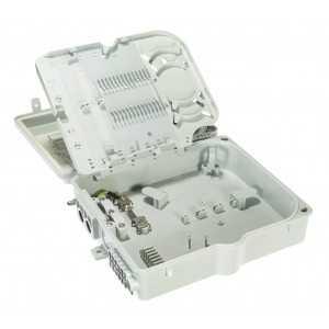 Caja 8 F.O. exterior. Admite splitter cassette hasta 1:8