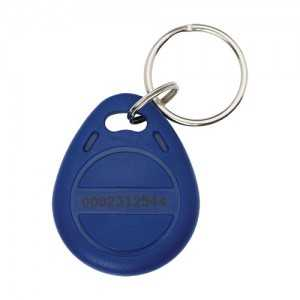 Llavero de lectura RFID de 125Khz Azul