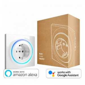 Fibaro Walli Outlet (Tipo F). Enchufe inteligente empotrable. Protocolo Zwave+