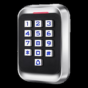 Control de acceso autónomo acceso por teclado y EM RFIDSalida relay, apto para exterior IP65