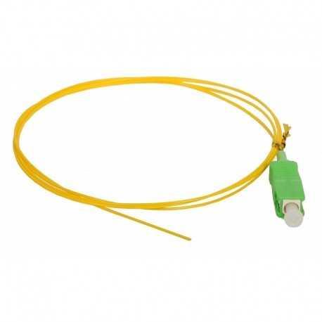 Pigtail SC/APC 0.9mm, Monomodo, LSZH, 1.5mts, Color amarillo
