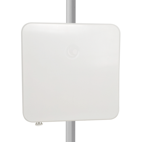 Punto de acceso AC 2x2 MIMO, IP67 (rugerizado), 5Ghz, 28dbm (630mW), 19dBi, Puerto Gigabit. Modelo ROW