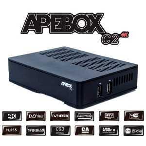 Receptor SAT (DVB-S2X) + TDT (T2/C), H265/T2, FULL HD, 1 Lector tarjetas, Wifi USB opcional.