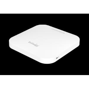 Punto de acceso AC 2.4/5Ghz para techo o pared, 1800Mbps, 20dBm (200mW), x4 antenas de 3dBi