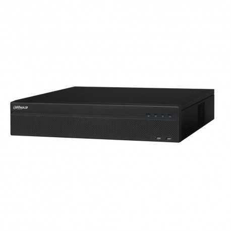 NVR 32ch IP hasta 12Mpx, 384Mbps, H.265, 8 HDD