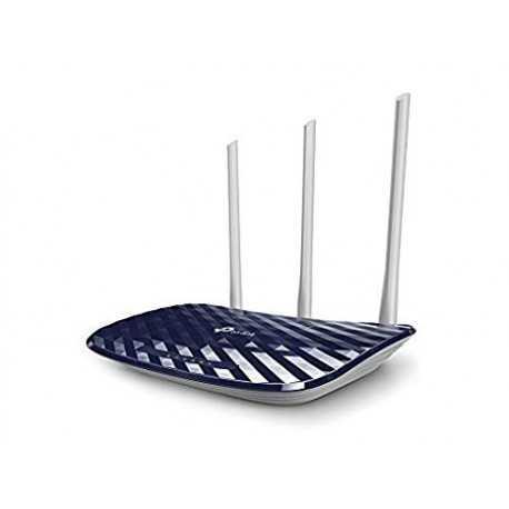 Router AC 2,4/5Ghz, x4 puertos 10/100 y x3 antenas 5dBi