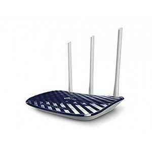 Router AC 2,4/5Ghz, 750mbps, x4 puertos 10/100 y x3 antenas 5dBi