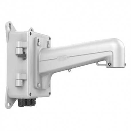 Soporte para domos motorizadas - Uso en pared - Con caja de conexiones - Largo 311.3 mm - Color blanco