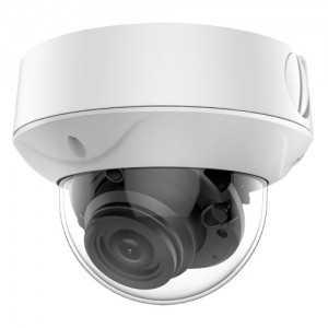 Cámara domo 4 en 1, 5Mpx High performance, 2.7-13.5mm, IR 40mts. IP67, blanca