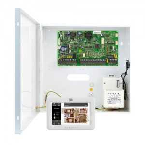 Kit de alarma cableada Grado 3 con caja y teclado táctil