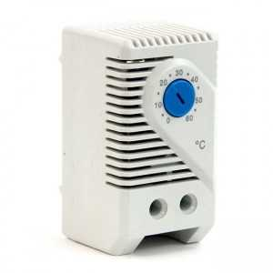 Termostato analógico para rack. Apto para hasta 4 ventiladores. 10A 250VAC