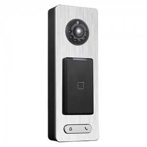 Lector autónomo de control de accesos con videoportero, IP. Apto para exterior IP65, para supervisión vía PC.