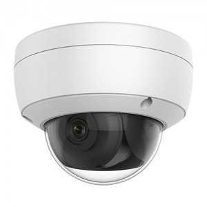 Cámara IP domo, 4Mpx Ultra Low Light, IR 30mts, 2.8mm, H265+, PoE802,3af, IP67, IK10, Audio