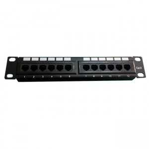 "Patch Panel 10"" x12 CAT6 UTP"