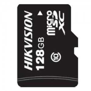 Tarjeta de memoria Hikvision, 128 GB, Clase 10 U1, Hasta 500 ciclos de escritura, FAT32, Especial para video-vigilancia y CCTV